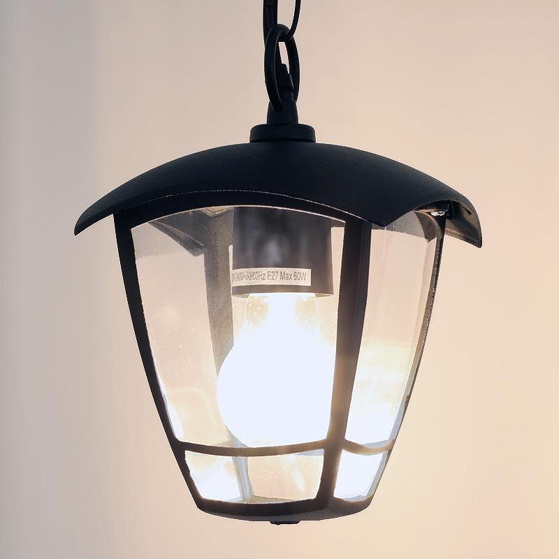 Zewnętrzna Lampa Wisząca Na Balkon Taras Rad 35c Ip44 W Led4u